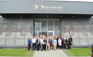Dealers and Yamaha Managers Tour Bösendorfer Vienna Factory