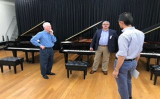 Campbellsville University Adds Extra Distinction to Their School of Music with Yamaha CFX Piano